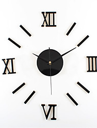 DIY Rome Digital Simplicity Mute Wall Clock