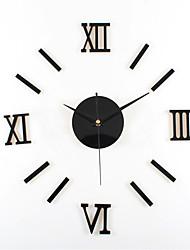DIY Rome Digital Simplicity Mute Wall Clock