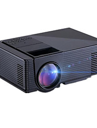 Hd1080p home theater projetor 1500lumens 3d levou av / usb / vga / sd