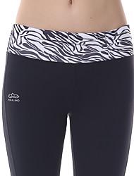 Pantaloni da yoga Calze/Collant/Cosciali Leggings Traspirante Asciugatura rapida Compressione Tessuto ultra leggero Alto Elastico