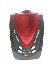 alta detector de radar sensível gps pré-aviso de radar x k ka ku banda velocidade do carro detector de radar de alerta de voz russa