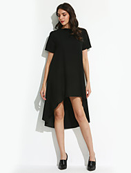 Women's Vintage/Sexy/Bodycon/Beach/Casual/Cute/Party/Plus Sizes   Short Sleeve Above Knee Dress