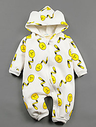 Baby Casual/Daily Print One-Pieces,Rayon Winter Long Sleeve