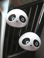 1PCS  New Creative New Products Panda Panda Air Outlet Perfume Random Color