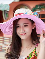 The New Summer Sun Hat Beach Sunscreen Sun Protection Travel Big Hat Along The UV