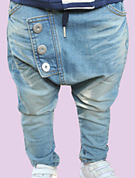 Boy's Fashion Leisure  Button Cowboy Pants