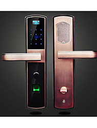 Fingerprint Password Lock Card Smart Home Apartment Office School Electronic Door Locks