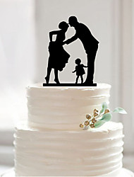 Acrylic a sweet cake topper custom wedding cake cake decoration