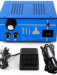 tatuaggio kit professionale doppia macchina del tatuaggio alimentazione clip cord pedale p131-2