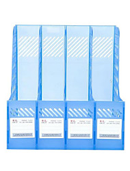Office Supplies Transparent Plastic Frame Bar Four Bar File File Four Document Management Frame