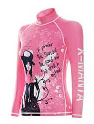 Dive & Sail® Damen 1mm Trockentauchanzüge wetsuit Top Neopren-Wasserdicht Atmungsaktiv warm halten Rasche Trocknung UV-resistant tragbar