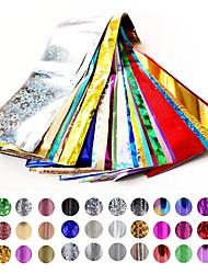 20pcs/lot  Nail Star Paper 4 * 120 Cm Bag Random Color