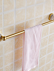 Single Towel Bar Towel Holder Towel Rack Alumnium & Ceramics Made Chrome Finish Bathroom  Accessories