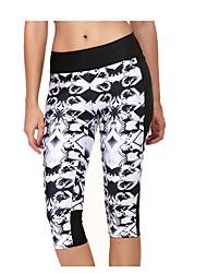 Course / Running Bas Femme Respirable Coton Yoga Course/Running Sportif non élastique Mince Vêtements de Plein Air Athleisure Noir Eté