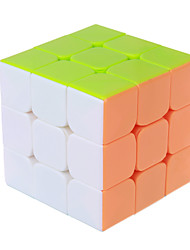 The color is smooth three magic cube