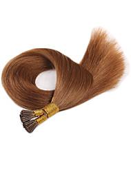 Top Selling Virgin European Nail Hair Extension T Tip Human Hair Extension Silky Straight Fashion High Quality Hair Straight