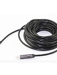 2m lentille 7mm 6LED ip67 endoscope caméra tube usb endoscope serpent