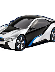 Carro Corrida i8 1:12 Electrico Não Escovado RC Car 7 2.4G Azul Pronto a usarCarro de controle remoto Controle Remoto/Transmissor Manual