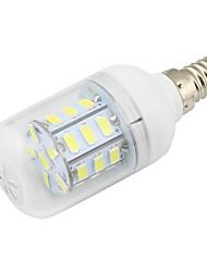 E14 4W Led Corn Bulb Light 27 SMD5730 DC/AC12-24V for Home RV Marine Cool / Warm White (1 Piece)