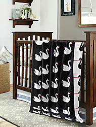 Tricoté A Motifs,Imprimé Toile Coton / Polyester couvertures S:90*110cm M:110*130cm