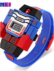 Men's Women's Unisex Sport Watch Dress Watch Fashion Watch Digital Watch Calendar Large Dial Quartz Digital Silicone Band Vintage Casual