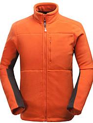 Wandern Trainingsanzug Herrn Wasserdicht warm halten Windundurchlässig Frühling Herbst Winter Terylen Grün Schwarz Orange S M L XL XXL