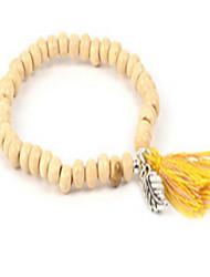 Women's Strand Bracelet Friendship Wood Jewelry For Daily Casual