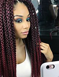3D havana mambo twist Cubic Twist Crochet Braids Hair Extensions Ombre Braiding synthetic braidingCrochet Hair Twist Box Braids Hair Havana MamboTwist