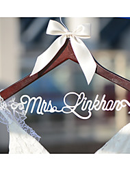 Personalized Wedding Hanger with Bride NameBridal Bridesmaid Wedding Dress Hanger Shower Gift