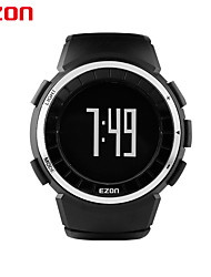 Men's Sports Watches Pedometer Calorie Counter Watches 50M Waterproof Digital Watch EZON T029B01