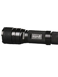SupFire LED Flashlights/Torch LED 1100 Lumens 3 Mode Cree XP-E R2 Cell Batteries Dimmable Easy CarryingCamping/Hiking/Caving Everyday Use