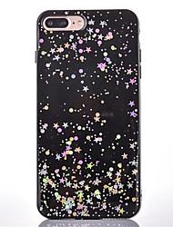 Pour Etanche à la Poussière Coque Coque Arrière Coque Brillant Flexible PUT pour AppleiPhone 7 Plus iPhone 7 iPhone 6s Plus/6 Plus iPhone