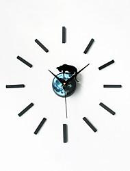Moderno/Contemporâneo Retro Animais Férias Inspiracional Família Amigos Desenho Animado Relógio de parede,Redonda Inovador Acrilico Metal