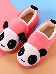 Girl's Slippers & Flip-Flops Comfort Fur Casual Black Blue Yellow Pink