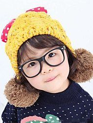Girl's Knitting Cute Winter Going out/Casual/Daily Keep Warm Solid Color Mickey Headgear Baby Hat Children Cap