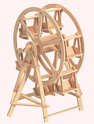 Jigsaw Puzzles Wooden Puzzles Building Blocks DIY Toys The Ferris Wheel 1 Wood Ivory Model & Building Toy