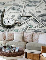 JAMMORY Money Watch Background Wallpaper Mural  Wall Covering Canvas Material Golden Church XL XXL XXXL