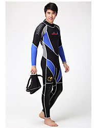 Dive&Sail Men's 3mm Dive Skins Wetsuit Skin Full WetsuitWaterproof Thermal / Warm Quick Dry Ultraviolet Resistant Wearable Breathable
