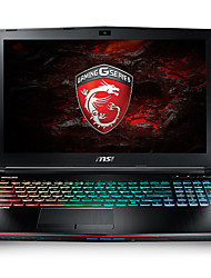 MSI gaming laptop GE62VR backlit 15.6 inch Intel i7 Quad Core 8GB RAM 1TB 128GB SSD Windows10