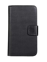 Pour Coque Nokia Portefeuille Porte Carte Avec Support Coque Coque Intégrale Coque Couleur Pleine Dur Cuir PU pour NokiaNokia Lumia 950