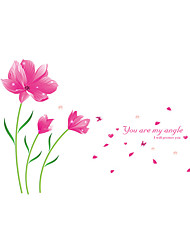 Wall Stickers Wall Decals Style Dream Flower PVC Wall Stickers