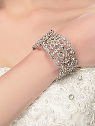 Women's Bangles Alloy Bridal Fashion Jewelry Silver Jewelry 1pc