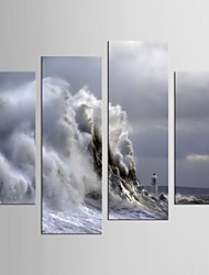 Canvas Set Still Life Abstract Landscape Modern Realism,Four Panels Canvas Any Shape Print Wall Decor For Home Decoration