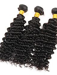 Brazilian Virgin Hair Deep Wave 3 Bundles 100% Virgin Human Hair Bundles Brazilian Deep Wave Deep Wave Brazilian Hair Bundles
