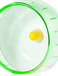 Грызуны Колесо для упражнений Пластик Зеленый Синий Желтый