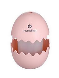 яйцо форма Увлажнитель перезаряжаемые изменения цвета с сенсорным переключатель ночного света