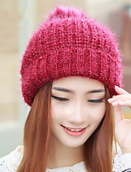 Fashion Bright Sequins Wool Ball Knitted Single - Cap Women 'S Warm Winter Cap Wool Cap