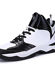 Men's Athletic Shoes Spring Fall Winter Comfort Fleece Outdoor Athletic Casual Flat Heel Split Joint Lace-up Basketball