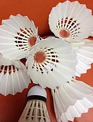 Бадминтон Мячи(Белый,Утиное перо) -Износоустойчивость