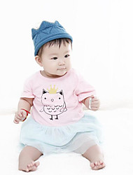 Baby Casual/Daily Animal Print One-Pieces,Rayon Summer Half Sleeve